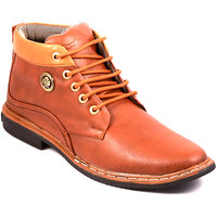 Stylos Mens Brown Long Boots