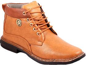 Stylos Mens Tan Long Boots