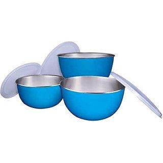 Lovato digital Microwave Safe Bowl Set of 3