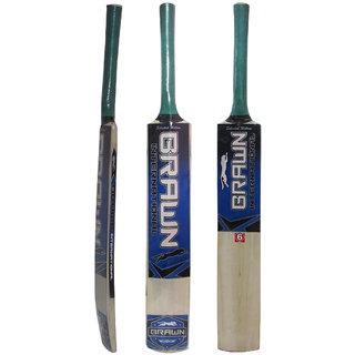 Brawn Cricket Bat with free Tennis Ball