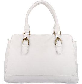 Fine Arch Women  White Hand Bag