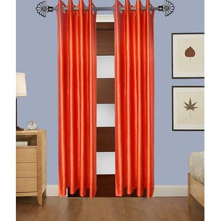shiv shankar handloom set of 2 Long Door Curtains (9x4Feet)