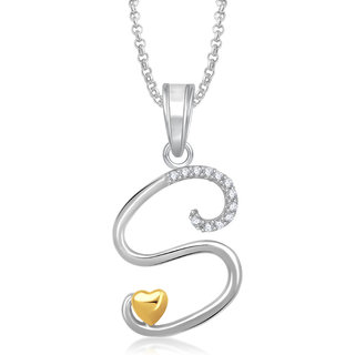 Meenaz heart s alphabet pendant for girls women with chain meenaz heart s alphabet pendant for girls women with chain valentine gifts ps340 mozeypictures Images