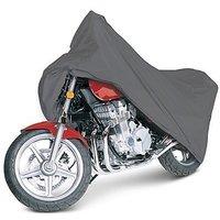 Bull Rider Universal Size Bike Body Cover for all Bikes (Black Color)