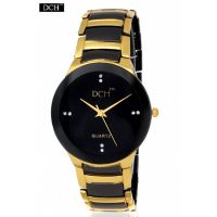 DCH Black Dial Analog Watch For Men With 6 Months Warranty (RD-02)