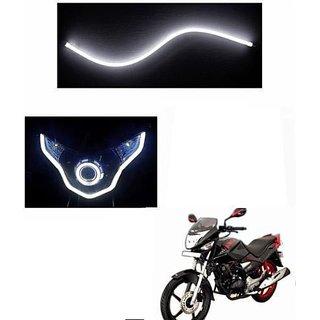 1 x Flexible Audi Style Neon White Tube DRL LIGHT FOR Bike CBZ Ex