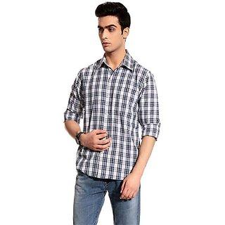 Swank casual check shirt HCB900