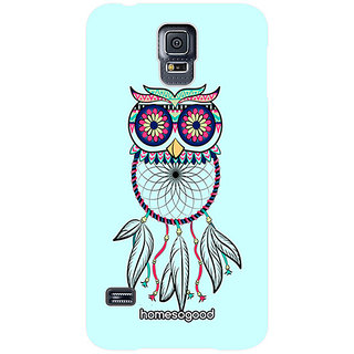 HomeSoGood Owl Type Hat Blue 3D Mobile Case For LG Nexus 5 (Back Cover)