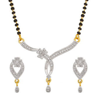 Classic Designer Gold Plated Mangalsutra MS-1303