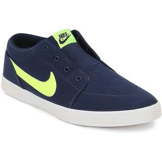 Nike Navy Volieo Slipon
