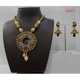 Necklace with Stylish Earring set