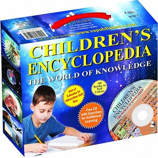 CHILDRENS ENCYCLOPEDIA - THE WORLD OF KNOWLEDGE