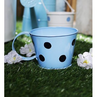 Polka Cups Small Light Blue