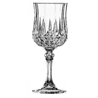 Cristal dArques Longchamp White Wine, 170ml, Set of 6