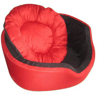 Jainsons Jerrys Super Soft Dual Round Velvet Bed For Dog And Cat - Large