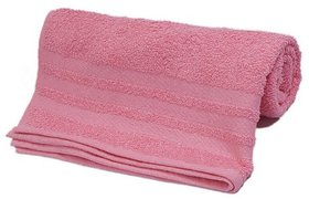 Ambika New  Pink Colour Towel