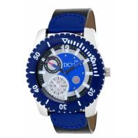 DCH WT 1236 Blue N Black Mist Collection Analog Watch For Men With 12 Months War