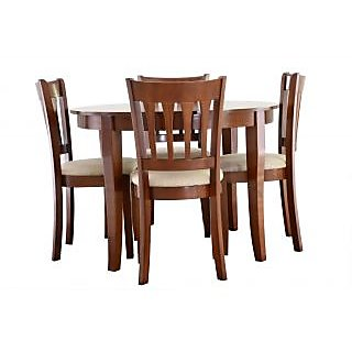 Nesta Flinth Solid Wood Dining Table Set