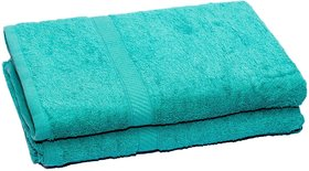 HomeStrap Eco Bath Towel - Green - 2 Pc