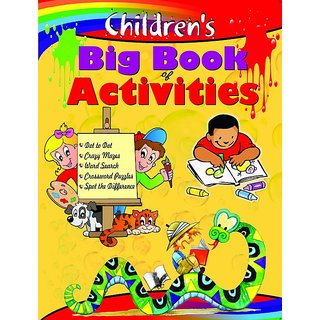 Childrens Big Book Of Activities