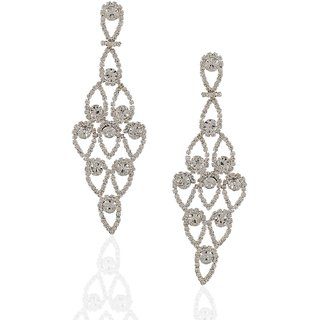 Anuradha Art Silver Earrings for Women