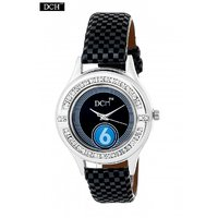 DCH WT 1246 Black Analog Watch For Girls With 12 Months Warranty