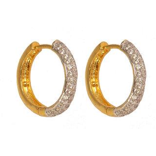 Fancy Party Wear Hoop Earring For Women (VE5690)
