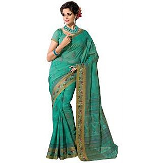 ASHIKA COTTON SAREE-DarkGreen-SUT6917ASHIKA-VP-Cotton-DarkGreen-SUT6917ASHIKA-VP
