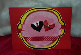 Awesome Couple heart card