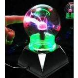 Touch And Glow Decorative Plasma Ball Light Table Lamp