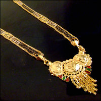 Gold Everyday Wear Alloy Gold Plated Only Mangalsutra