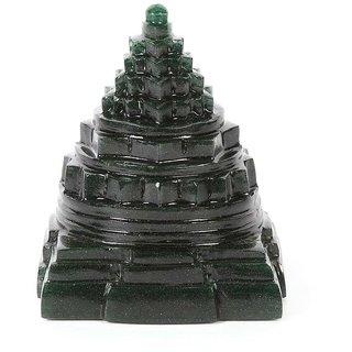 Religiousdeal Green Jade Shree Yantra