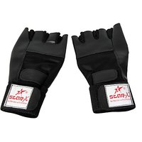 Star X Beginner Gym  Fitness Gloves Free Size Black in color