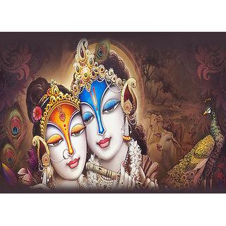Radha krishan canvas