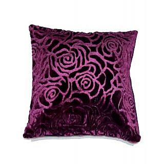 Koncepts Rose Velvet Cushion Cover (40X40Cms) 39F