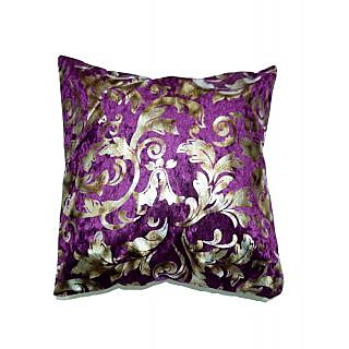 Koncepts Silver Flower Design Cushion Cover (40X40Cms)40E