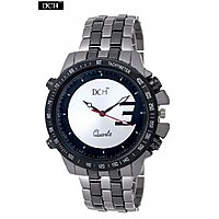 DCH WT 1254 Two Tone Analog Watch For Me With 12 Months Warranty