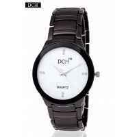 DCH White Dial Analog Watch For Men With 12 Months Warranty