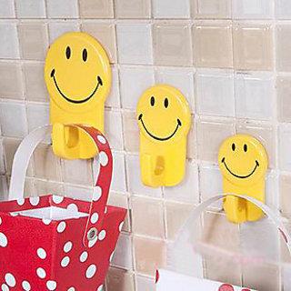 Smiley Plastic Hooks 3
