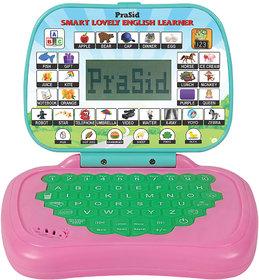 Prasid Smart Lovely English Learner Kids Laptop PinkGreen