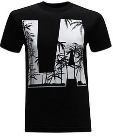 California Republic Palm Trees Mens T-Shirt
