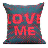 Soft LOVE ME Red Printed Cushion Gift for Valentine GIFTS110140