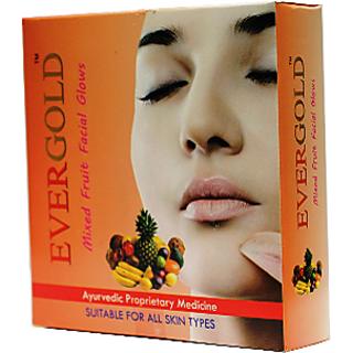 Evergold Mixed Fruit Facial Kit