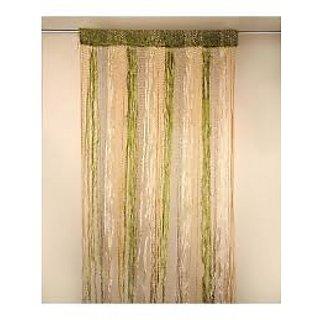 Akash Ganga Fugga Door Curtain(Set of 2)