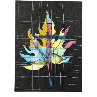 Hand-Painted Contrasting Maple Classic Painting (HDCP0016_S)