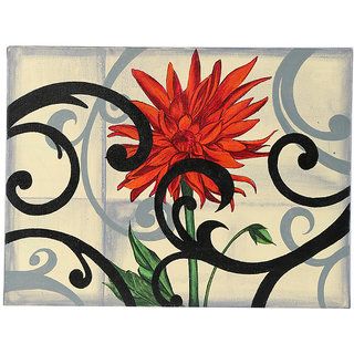 Hand-Painted Modern Blend Classic Painting (HDCP0021_L)
