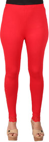 Ayesha Creations Red Womens Leggings-ACLG3001FNTSTNS