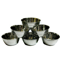 Stainless Steel Bowls Set Of 12 Pieces