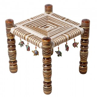buy khatli bajot rajasthani seating dining king style wooden