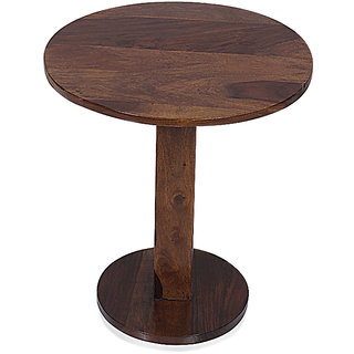 DECORINK ACQUIRO END TABLE - Sheesham Wood - Teak Finish